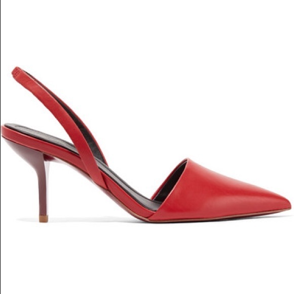 99bd11fe93f Diane Von Furstenberg Shoes | Dvf Red Pumps Mortelle Slingback Pumps ...